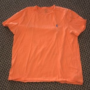 Polo T shirt M men's orange